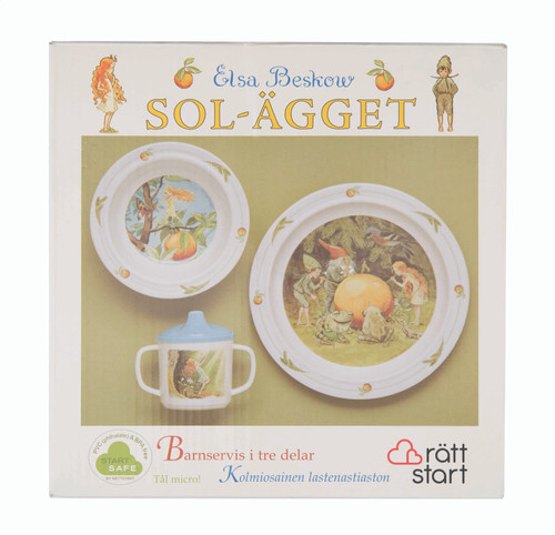 The Sun Egg - Children's Dish Set