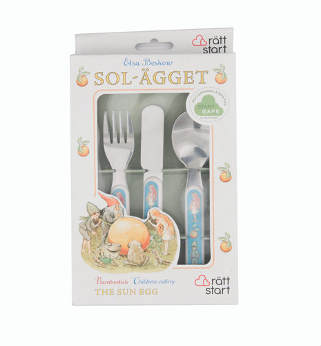 The Sun Egg - Children's Cutlery Set