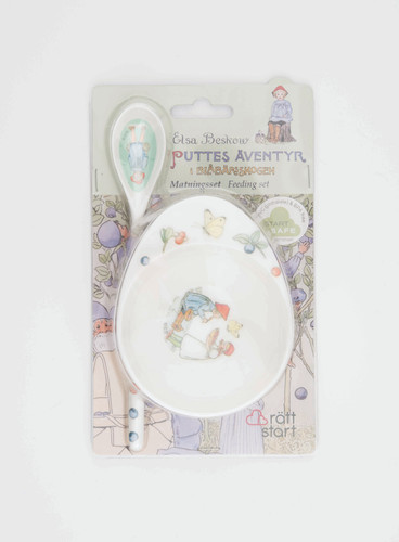 Peter in Blueberry Land - Infant Feeding Set