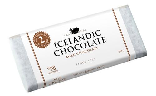 Nói Síríus Icelandic Chocolate - 33% Milk Chocolate, 200g (25111)