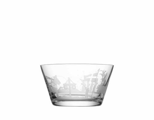 Orrefors Sweden Symbols Bowl