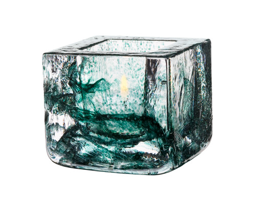 Kosta Boda Brick Votive, Green (7061033)