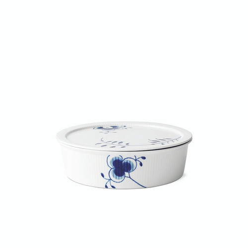 Royal Copenhagen Blue Fluted Mega - Dish with Lid, 1.5 Qt (1016884)