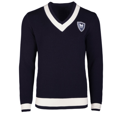 Dale of Norway Morgedal Sweater, Mens - Navy/Off White, 94011-C