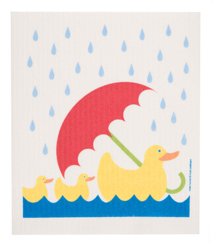 Swedish Dishcloth - Umbrella Duck (1055-0219-9500)
