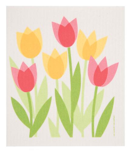 Swedish Dishcloth - Tulip Field