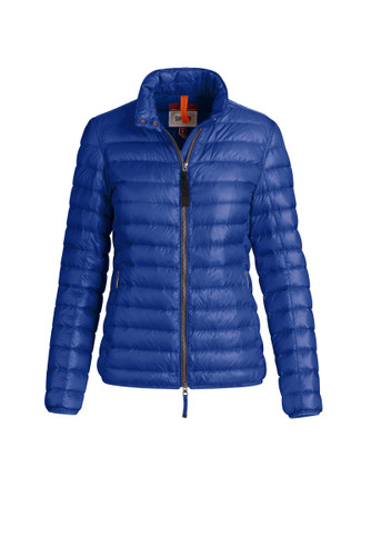 Parajumpers Leonore Sheen Puffer Jacket, Womens - Royal Blue (PWJCK5X31-516)