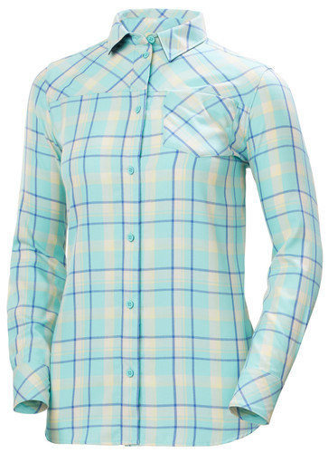 Helly Hansen Lokka LS Shirt, Women's - Glacier Blue, 62875-648