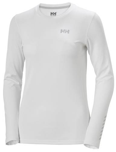 Helly Hansen Lifa Active Solen LS T-Shirt, Women's - White, 49352-001