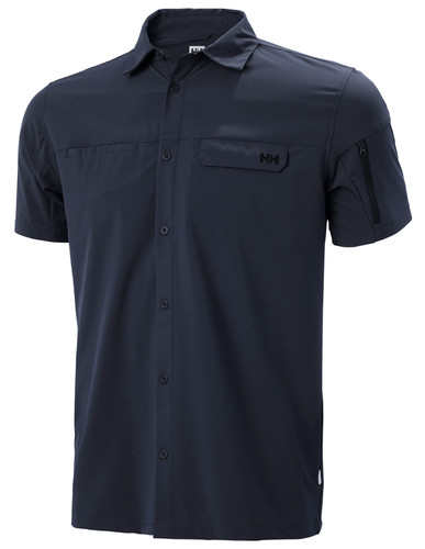 Helly Hansen Verven SS Shirt, Men's - Navy, 62881-597