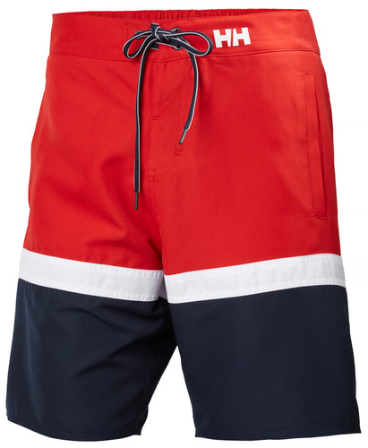 Helly Hansen Marstrand Trunk, Men's - Red/White/Navy, 33982-162