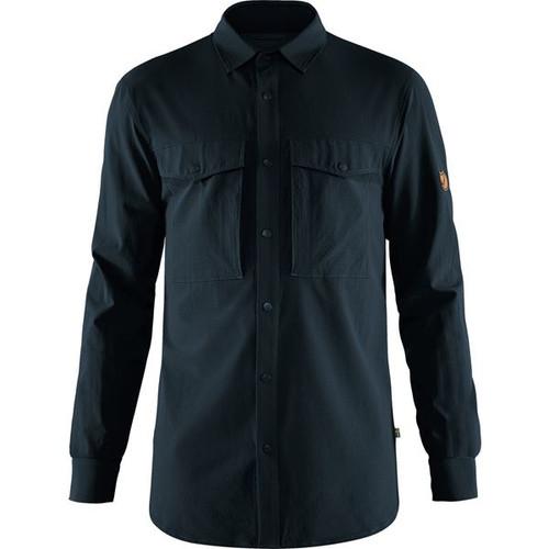 Fjällräven Abisko Trekking Shirt, Men's, Dark Navy - F87935-555