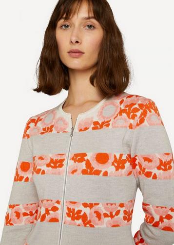 Oleana Cardigan, Darling Buds, 500-DE Soft Peach