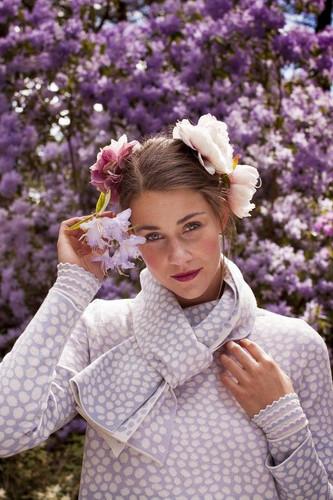 Oleana Scarf, 193-NC Lavender