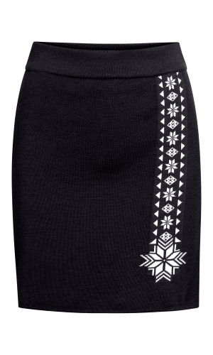 Dale of Norway Geilo Skirt, Ladies - Navy/Off White, 62041-C