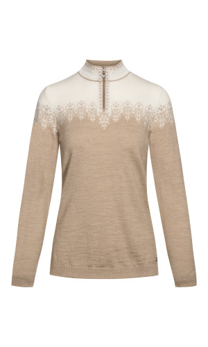 Dale of Norway Snefrid Sweater, Ladies - Beige/Off White, 93431-P (93431-P)