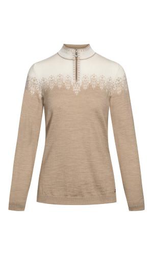 Dale of Norway Snefrid Sweater, Ladies - Beige/Off White, 93431-P (93431-P)