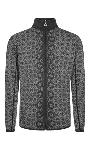 Dale of Norway Christoffer Cardigan, Mens - Dark Charcoal/Smoke/Black - 83471-E