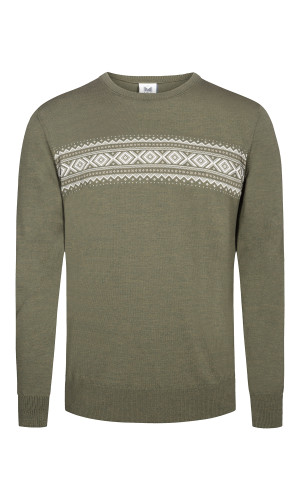 Dale of Norway Sverre Sweater, Mens - Dark Green/Off White/Beige, 93031-G (93031-G)