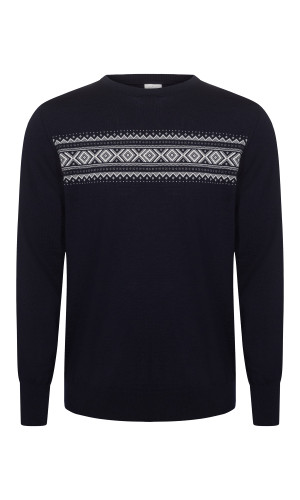 Dale of Norway Sverre Sweater, Mens - Navy/Off White/Smoke, 93031-H (93031-H)