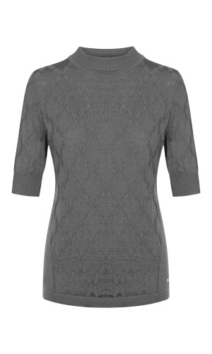 Dale of Norway Lilly Top, Ladies - Grey, 94321-E (94321-E)