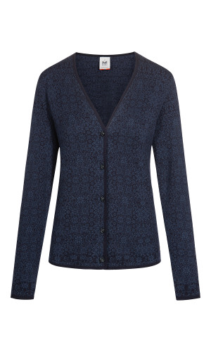 Dale of Norway Otelie Cardigan, Ladies - Navy/Night Blue, 83581-C (83581-C)