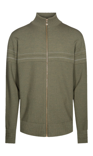 Dale of Norway Syv Fjell Full-Zip Cardigan, Mens - Dark Green/Smoke, 83551-G (83551-G)