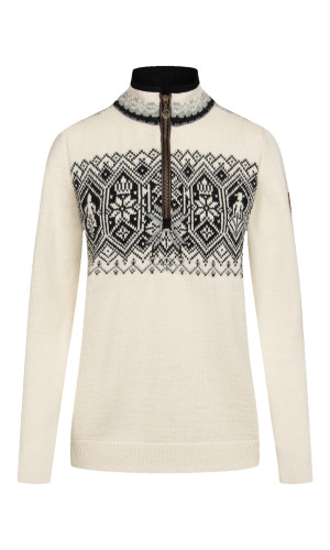 Dale of Norway Norge Sweater, Ladies - Off White/Charcoal/Black 93721-A (93721-A)