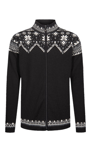Dale of Norway Brimse Cardigan, Mens - Black/Smoke/Off White/Dark Charcoal , 83671-F (83671-F)