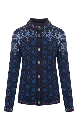 Dale of Norway Brimse Cardigan, Ladies - Navy/Indigo/Blue Shadow/Red Rose , 83681-C (83681-C)