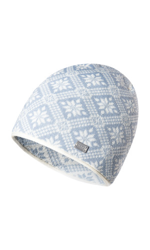 Dale of Norway Christiania Hat - Off White/Metal, 48701-A (48701-A)