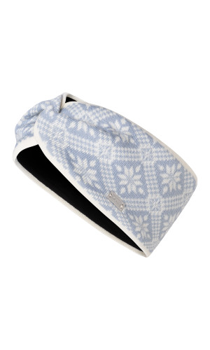 Dale of Norway Christiania Headband - Off White/Metal, 26701-A (26701-A)