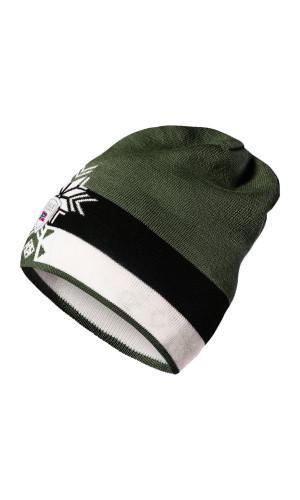 Dale of Norway Geilolia Hat - Dark Green/Off White/Black, 48261-N (48261-N)