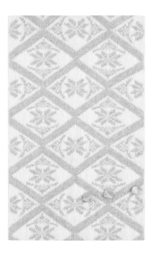 Dale of Norway Freja Scarf - Light Charcoal/Off White, 11721-T (11721-T)