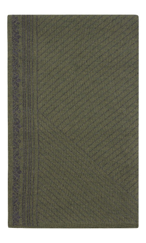 Dale of Norway André Scarf - Dark Green/Dark Charcoal, 11741-G