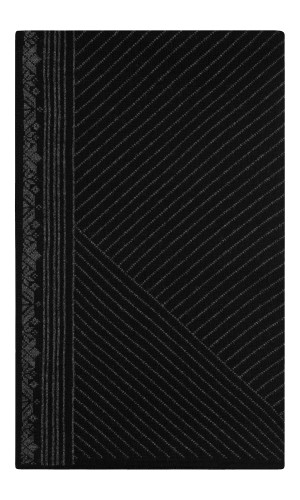 Dale of Norway André Scarf - Black/Dark Charcoal, 11741-F (11741-F)