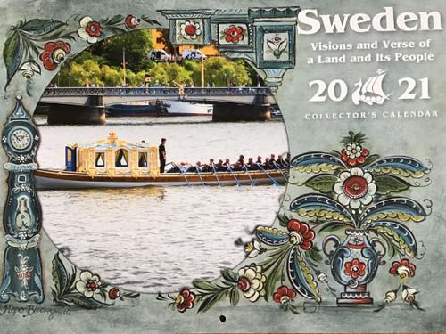 2021 Sweden Visions and Verse Calendar - Paulstad (3004-3931-2021 Sweden - Paulstad)