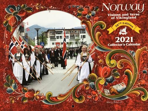 2021 Norway Visions and Verse Calendar - Paulstad (3004-3911-2021 Norway - Paulstad)