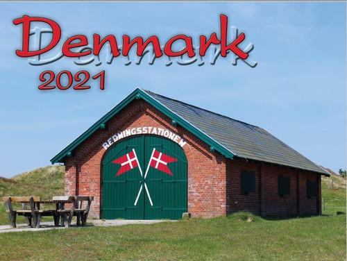 2021 Denmark Calendar in Photographs - Nordiskal (3004-1044-2021 Nordiskal Denmark)