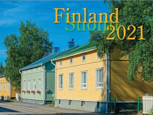 2021 Finland Calendar in Photographs - Nordiskal (3004-1044-2021 Nordiskal Finland)