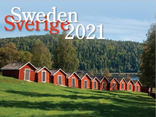 2021 Sweden Calendar in Photographs - Nordiskal (3004-1044-2021 Nordiskal Sweden)