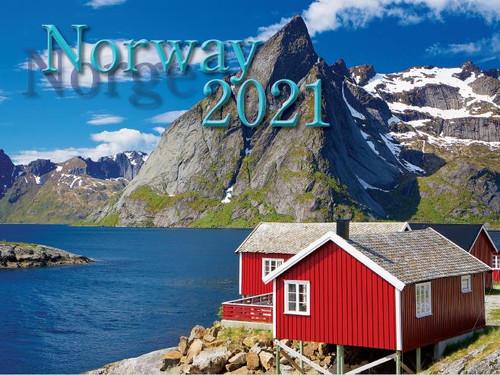 2021 Norway Calendar in Photographs - Nordiskal (3004-1044-2021 Nordiskal Norway)
