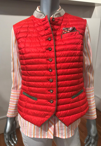 Schneider's Hannah Ladies' Vest, in Chili/Steppe (17271104-7309)