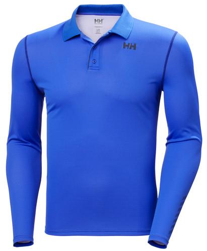 Helly Hansen Lifa Polo Longsleeve, Men's - Royal Blue, 49351-514 (49351-514)
