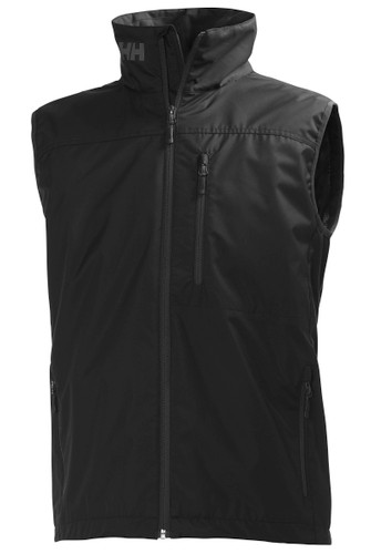 Helly Hansen Crew Vest, Men's - Black, 30270-990 (30270-990)