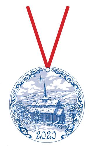 2020 Stav Church Ornament - Hore, Valdress Norway