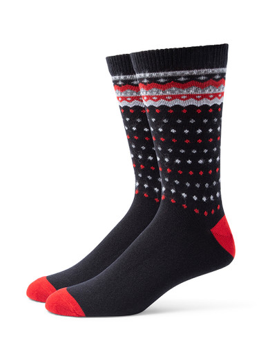 Alchester & Sons Telluride Socks, Men's One Size - Black (AL9245-07000)
