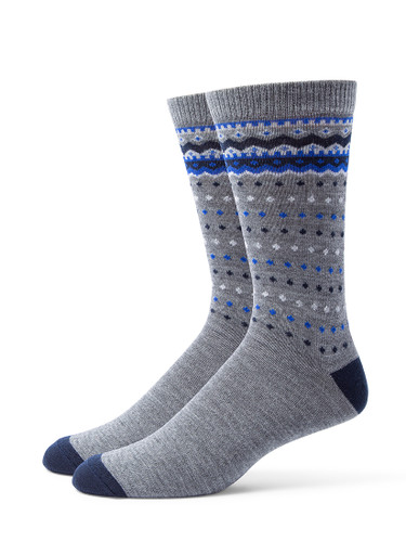 Alchester & Sons Telluride Socks, Men's One Size - Grey (AL9245-07030)