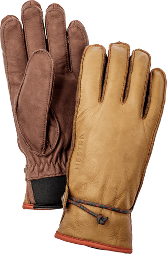 Hestra Wakayama Unisex Gloves, Cork and Brown (37020-710750)