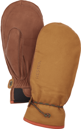 Hestra Wakayama Unisex Mitt, Cork and Brown (37021-710750)
